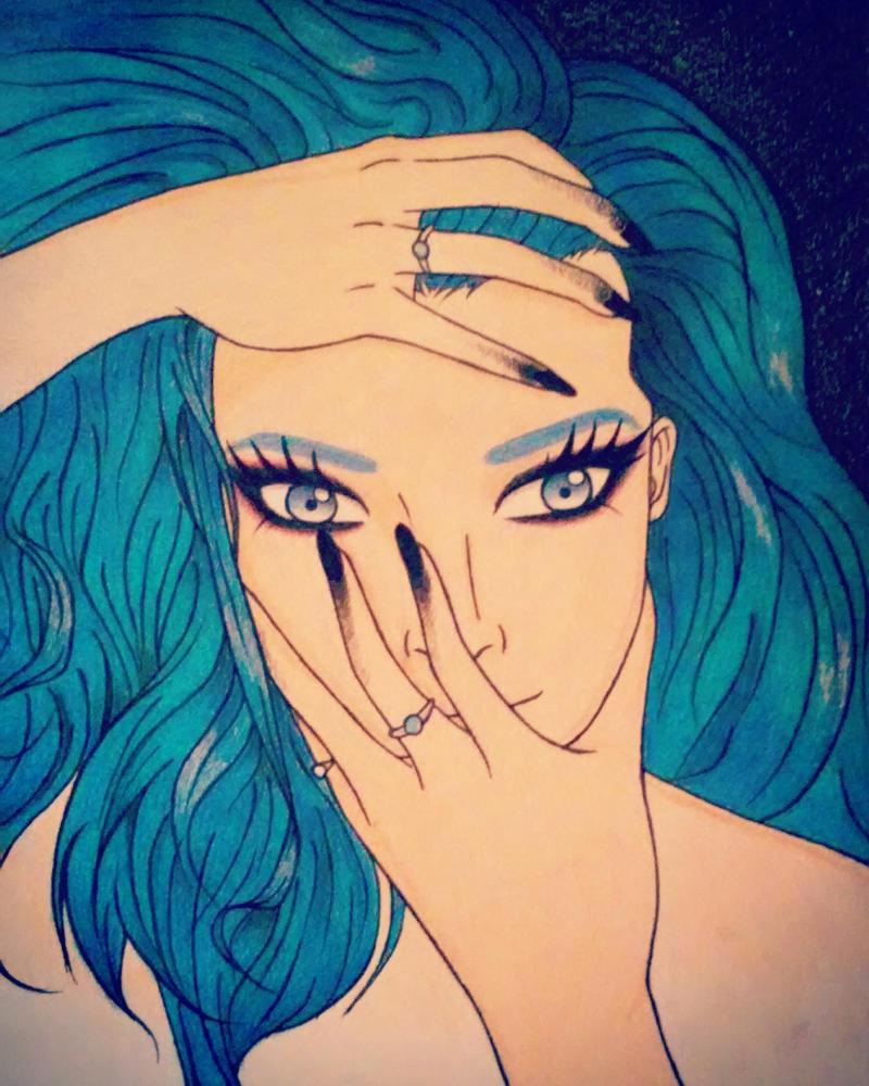 Blue by Gigglezalotz