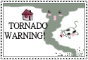 Tornado Warning Stamp by witch13888
