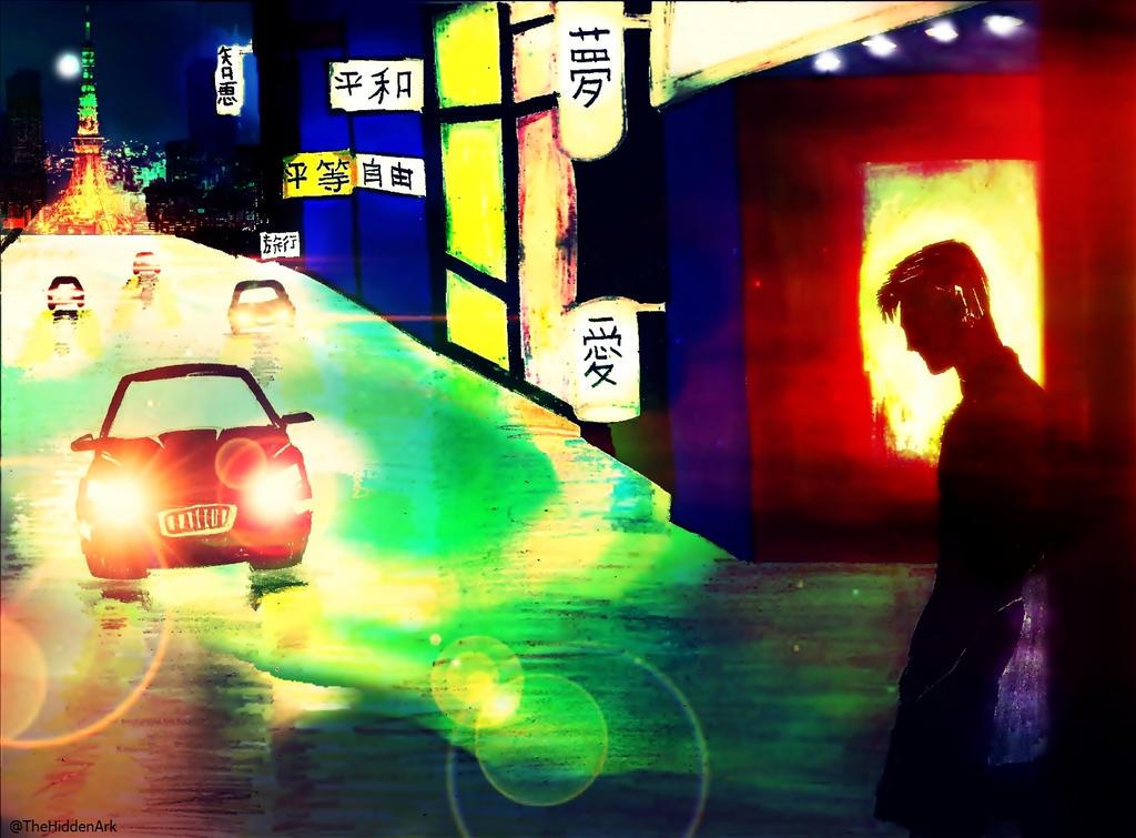 Tokyo Nights by TheHiddenArk