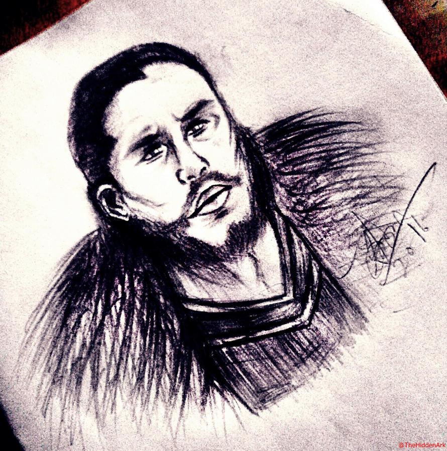 Jon Snow by TheHiddenArk