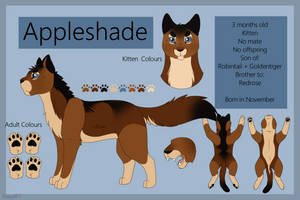 Appleshade Reference Sheet - Offical by TACOBELLABAE