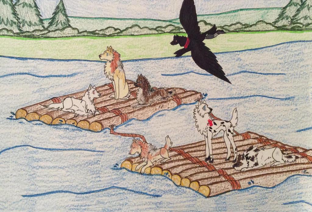 Floatin' Down River - Toko Explore by xWolfwingx