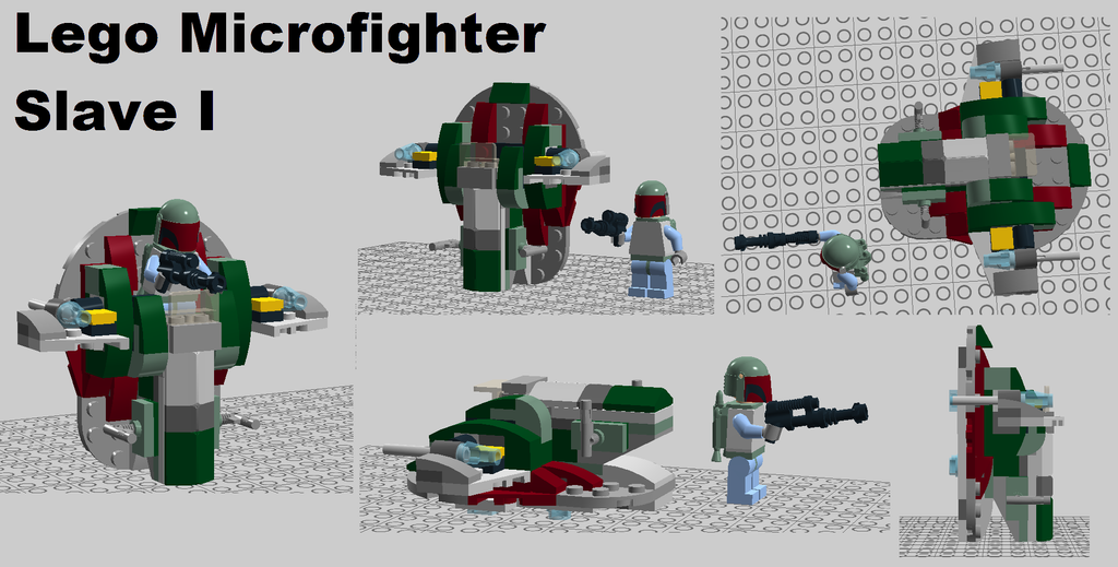 Lego Star Wars Microfighters - Slave I Concept by Azikira ...