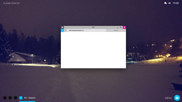 improved KDE 5 design mockup thing