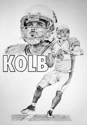 Kevin Kolb by CHaverlandArt