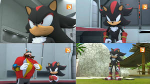 Shadow the Hedgehog is in Sonic Boom