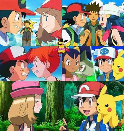 what episode does serena and ash meet