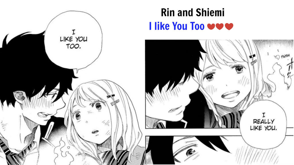 blue exorcist rin and shiemi relationship test