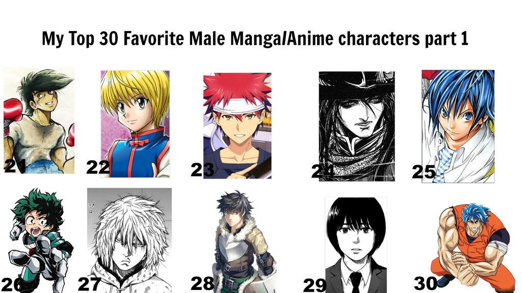 SteveHNo96 5 2 My Top 30 Favorite Male Manga Anime Characters 1 By BlackOtakuZ