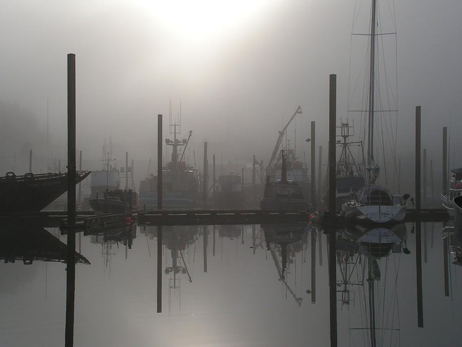 Cordova Marina, Alaska by lost-capella