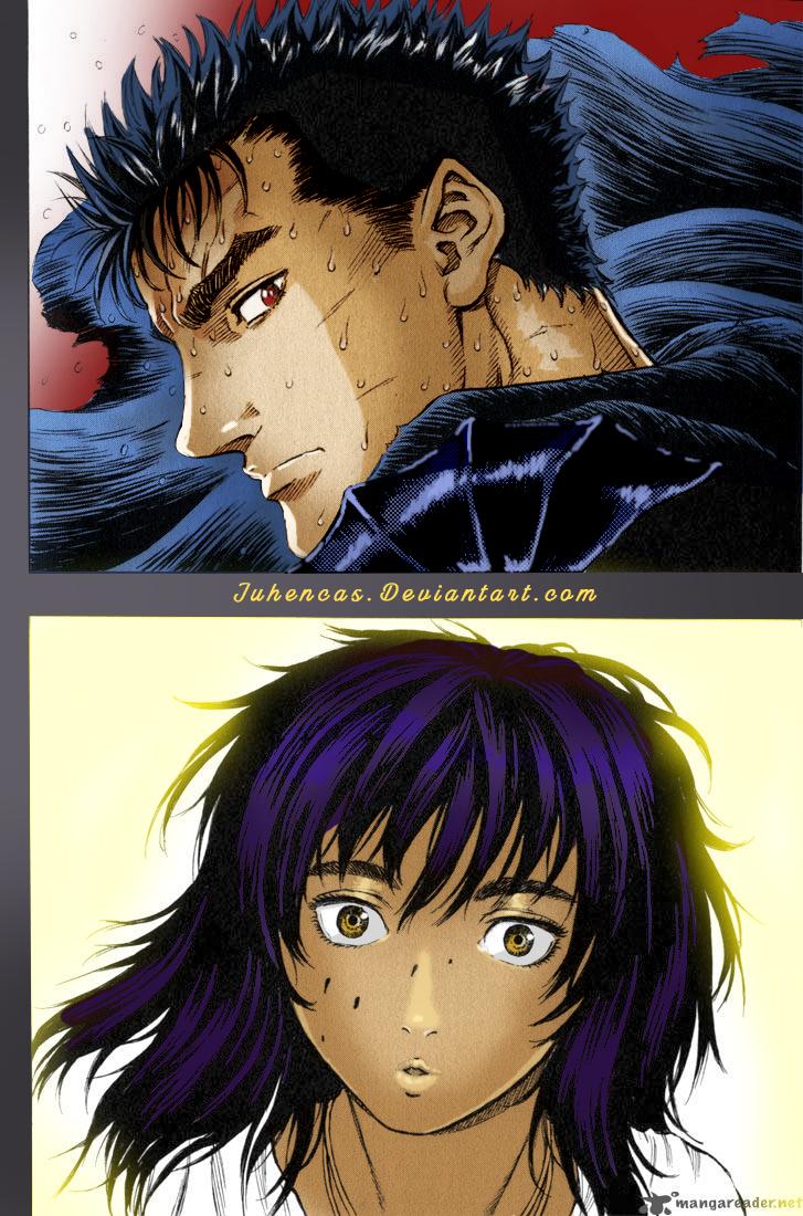 Berserk Manga Gatzu y Casca by Juhencas
