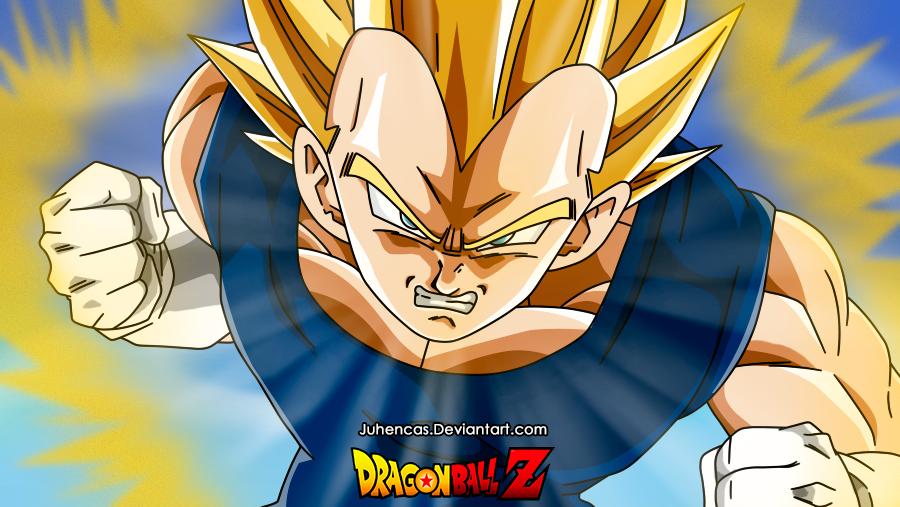 Dragon-Ball-Z-Vegeta-Juhencas by Juhencas