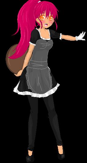 .:Waitress Karite:. by alexpc901