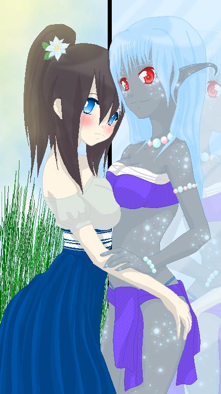 .:Tracy And Aisu:. by alexpc901