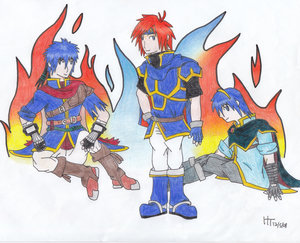 Prize- Fire Emblem Trio by te by IkeFanatics
