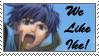 We Like Ike Stamp by Wellgarth