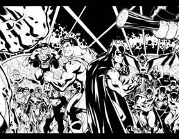 Superman Batman DPS by DexterVines