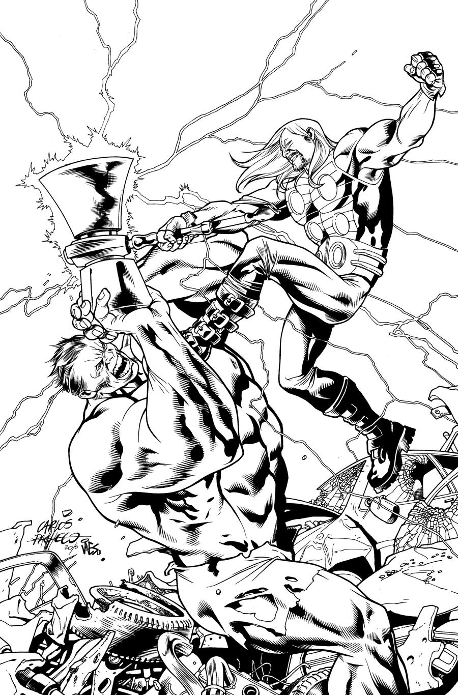 ultimate thor cover 4 by dextervines on deviantart