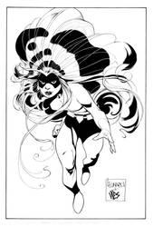 Medusa Pinup by DexterVines