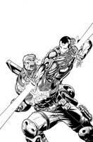 Avengers X-Sanction Cover 2. by DexterVines