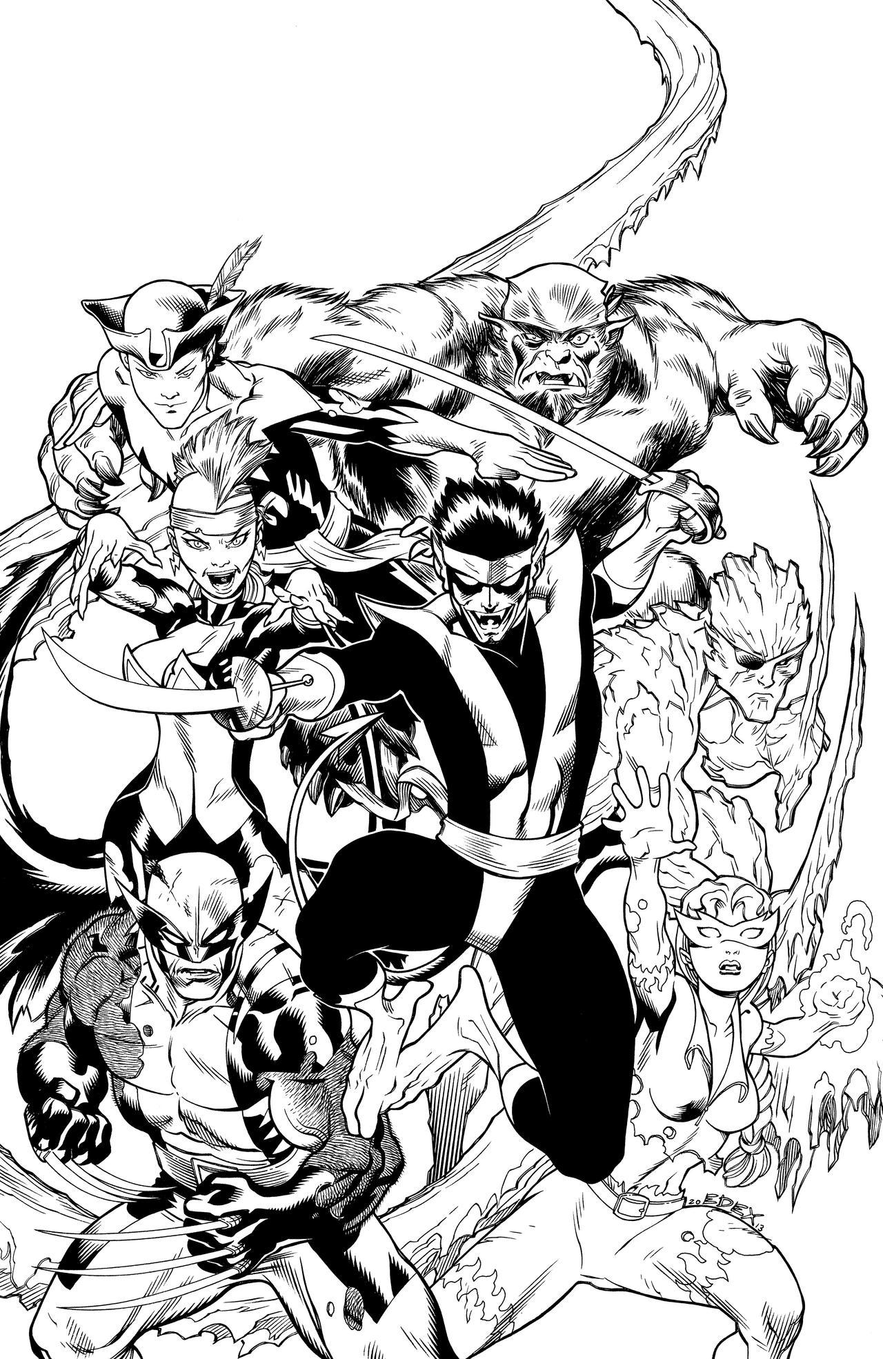 Amazing Xmen Cover 5 by DexterVines