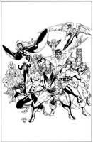 Classic Xmen #1 Cover. by DexterVines