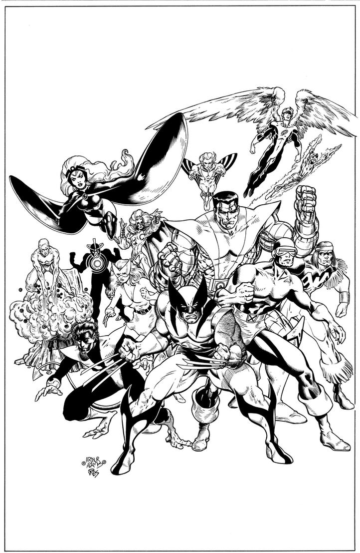 Classic Xmen #1 Cover. by DexterVines