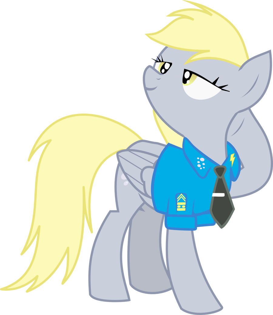 Derpy Hooves Scrunchy Face Derpy Hooves in Suit b...