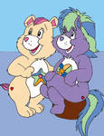 The founders of Care Bears