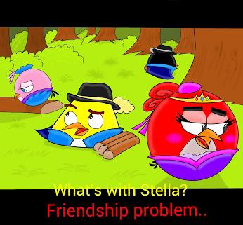 Friendship Problem by Oceanegranada