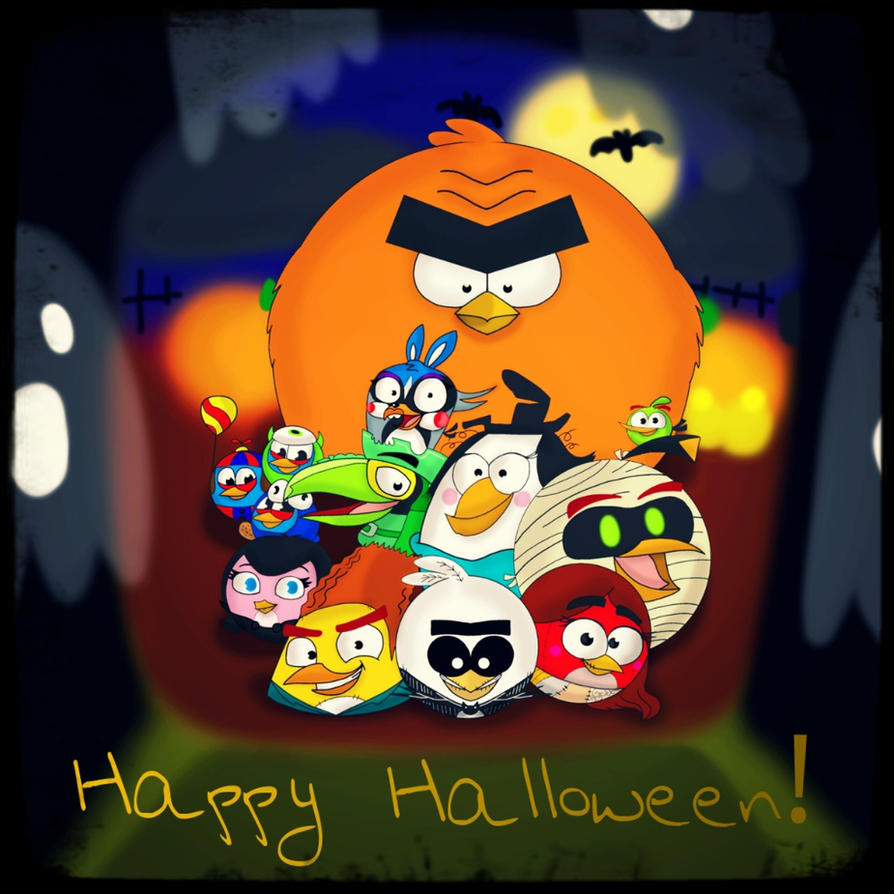 Angry Birds Halloween Images Wallpaper And Free Download