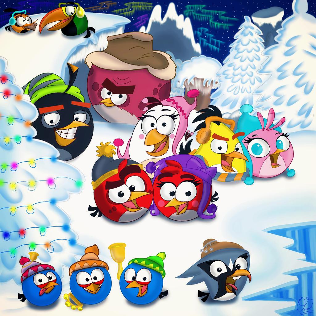 Angry Birds Christmas 2015 by Oceanegranada on DeviantArt