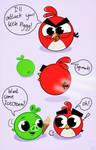 Angry Birdies:Icecream