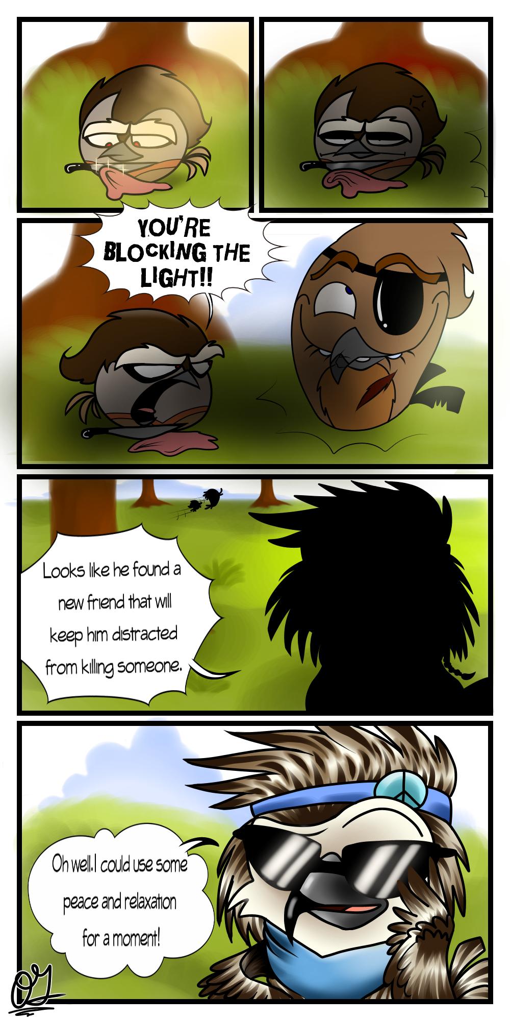 OCs comic:New friend by Oceanegranada