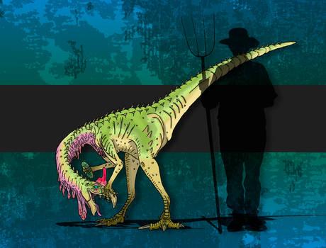 Dinovember Day #8 - Egg Thief