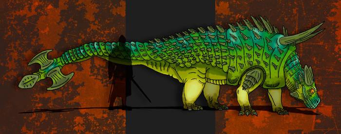 Dinovember Day #11 - Club-Tailed Goliath
