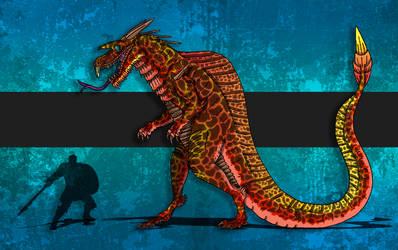 Dinovember Day #17 - Apex Predator