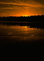 sunset on film
