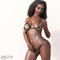 Kiara - Bikini Shoot 3 by SinAWiL