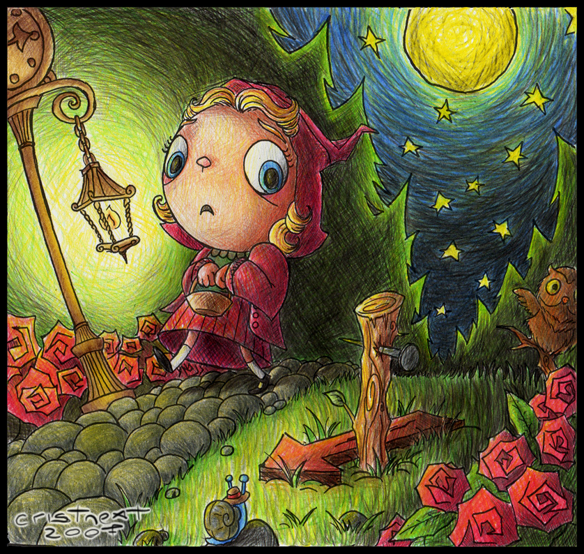 Scary Little Red Riding Hood by Cristnext