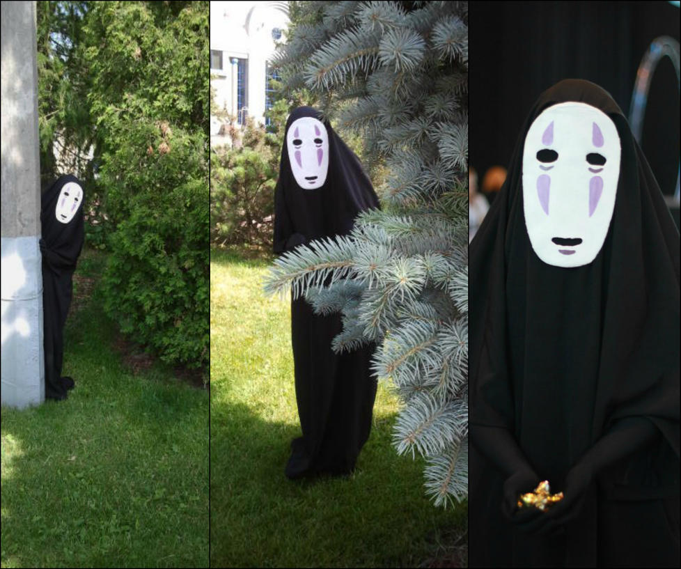 No-face cosplay by MsVillainess