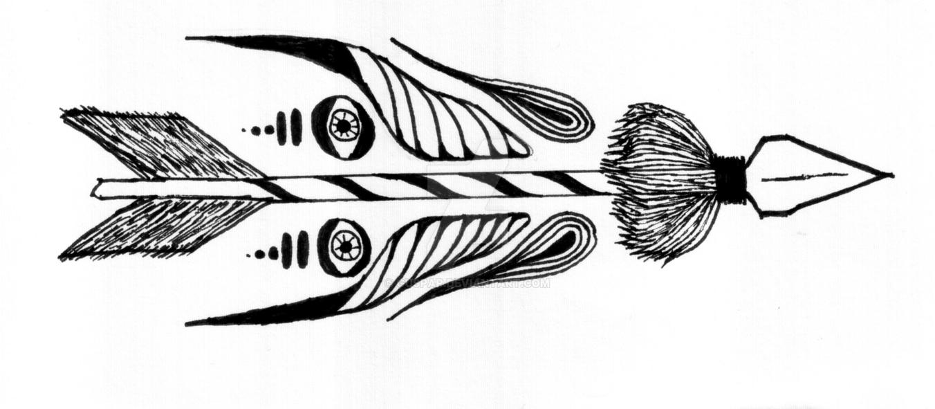 Mystic arrow by Guspap