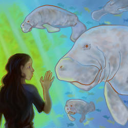 At the Aquarium by chubby-manatee