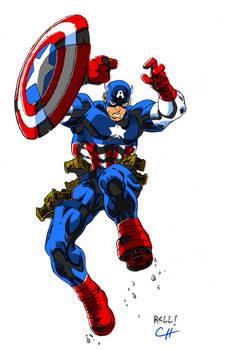 Captain America by Bobbett