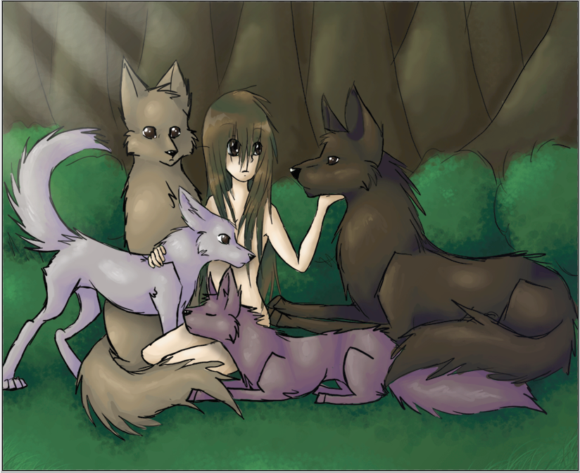 Living with Wolves by Kinarei