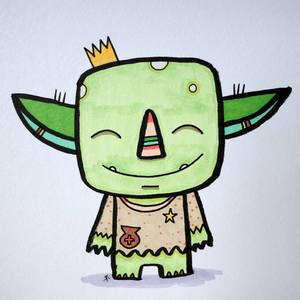 Goblin - a HAPPY one