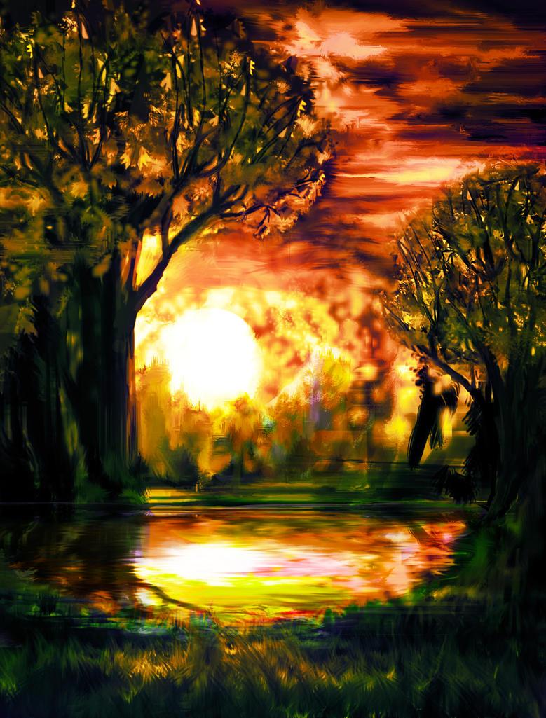 Wildfire by Daedric-Pony