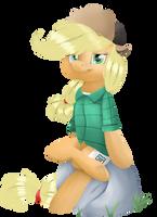 Wendy (AppleJack) by ChibaDeer