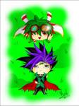 Chibis Yuya And Yuto