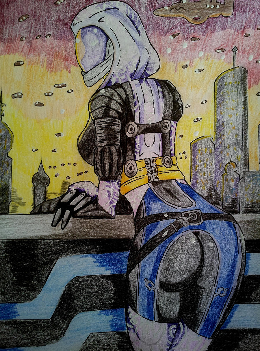 Mass Effect  - Tali by Arkanus89
